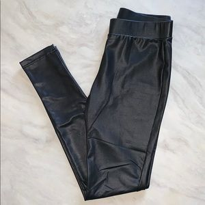 Forever21* Faux Leather Leggings/Pants